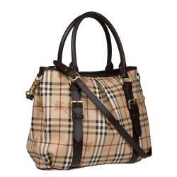 59c87bb8d048 Brands For Fraction  Burberry Haymarket Check Northfield Tote Bag ...