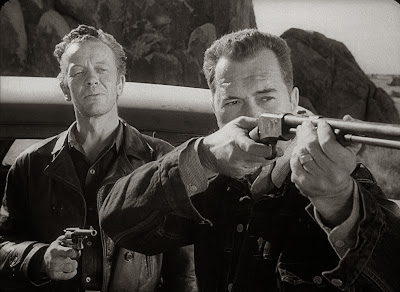 William Talman, Edmond O'Brien - The Hitch-Hiker (1953)
