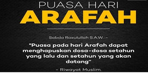 Doa Niat Puasa Arafah Dan Tarwiyah Sebelum Idul Adha 2016 Bahasa Arab Yang Benar