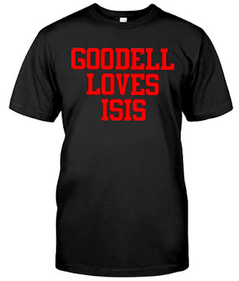 Goodell Loves Isis T Shirt Hoodie Sweatshirt Sweater Tank Tops. GET IT HERE