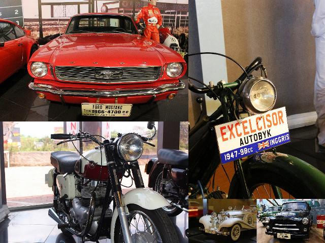 koleksi mobil motor museum angkut