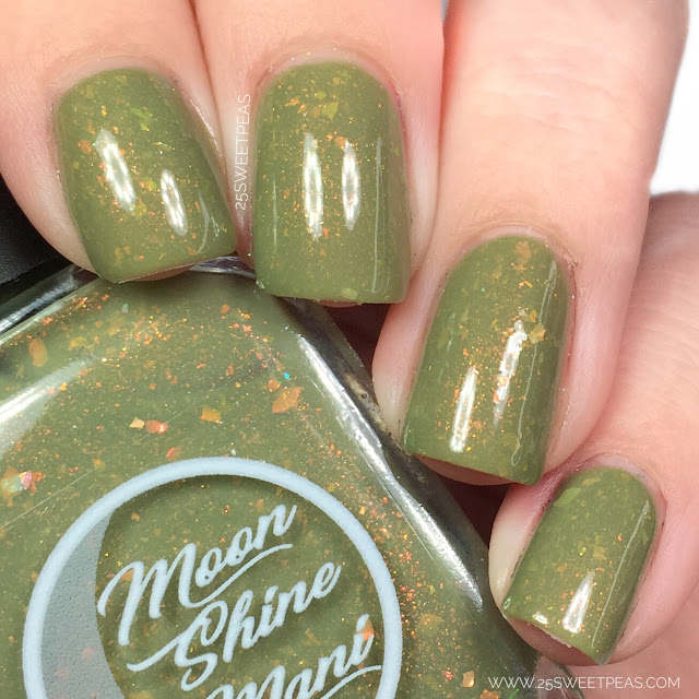 Moon Shine Mani Sage it isn't So
