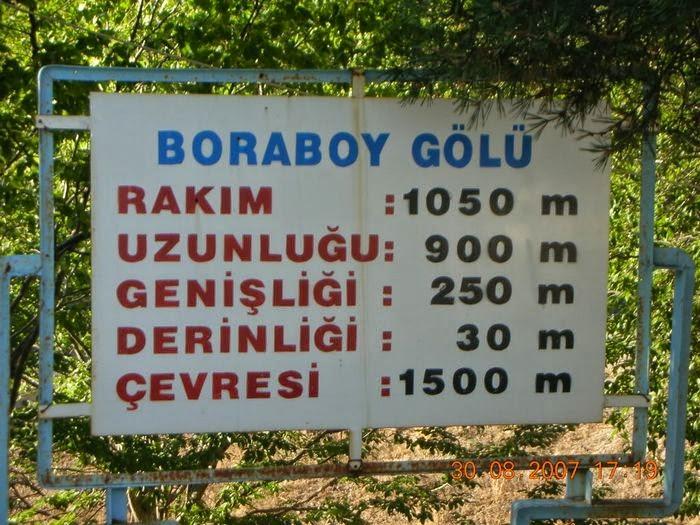 Borabay Gölü Özellikleri
