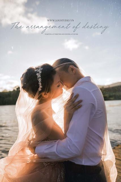 Bộ ảnh cưới lãng mạn ở Đà Lạt