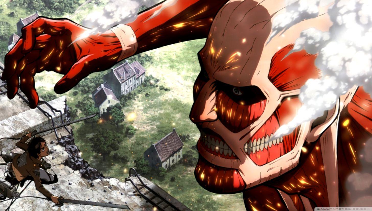 Attack On Titan Desktop Wallpaper Dom Wallpapers