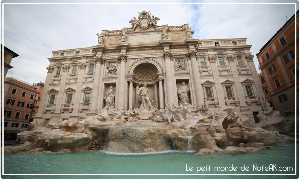 Visiter la fontaine de Trevi à Rome