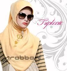 Model Jilbab Robbani Modern Untuk Pesta Terbaru