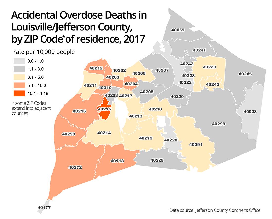 Kentucky Health News: Neighborhood just south of Churchill Downs had ...