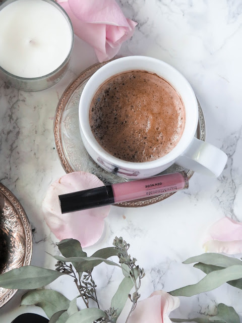 Naturally Nude   BareMinerals GenNude Powder Blushes & Patent Lip Lacquers   Review & Swatches   labellesirene_