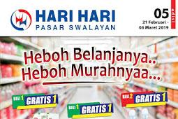 Katalog Promo HARI HARI Pasar Swalayan 21 Februari - 6 Maret 2019