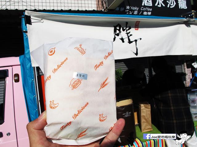 IMG 4829 - 【台中美食】胖丁 碳烤三明治 位於惠中路上的胖丁炭烤三明治,每個三明治都有花生醬、生菜、火腿、玉米蛋滿滿都是料