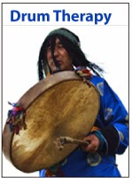 http://shamanicdrumming.com/drumtherapy.html