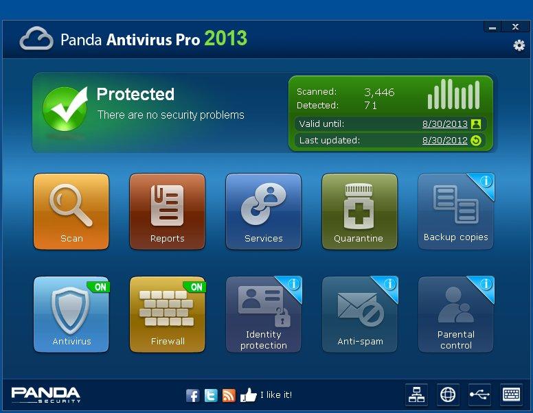 panda antivirus 2013 full version free download