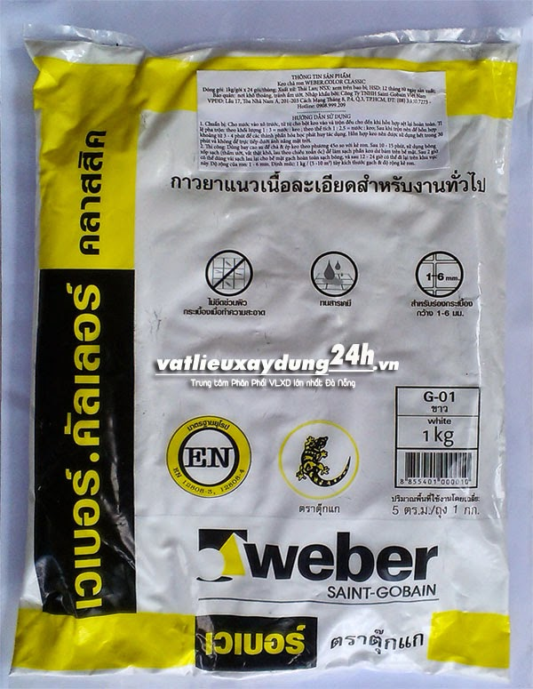 Keo chà ron Weber Classic G-01
