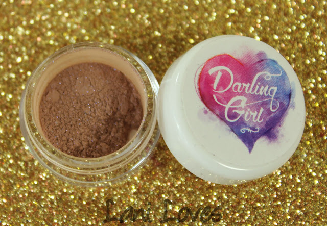Darling Girl Coco Loco eyeshadow swatches & review