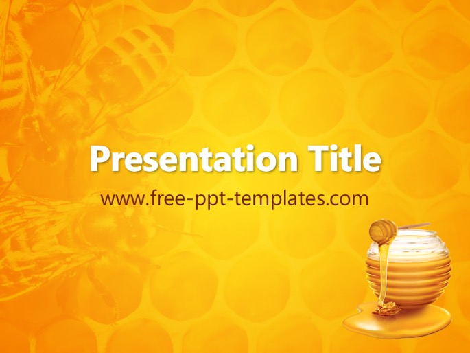 Honey Ppt Template