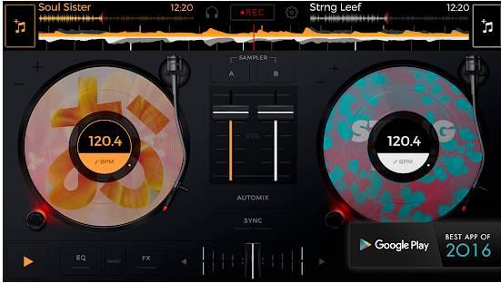 Aplikasi Edit Lagu Android edjing Mix: DJ music mixer