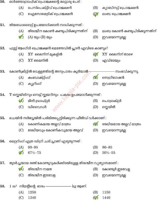 Workshop Attender Civil question paper