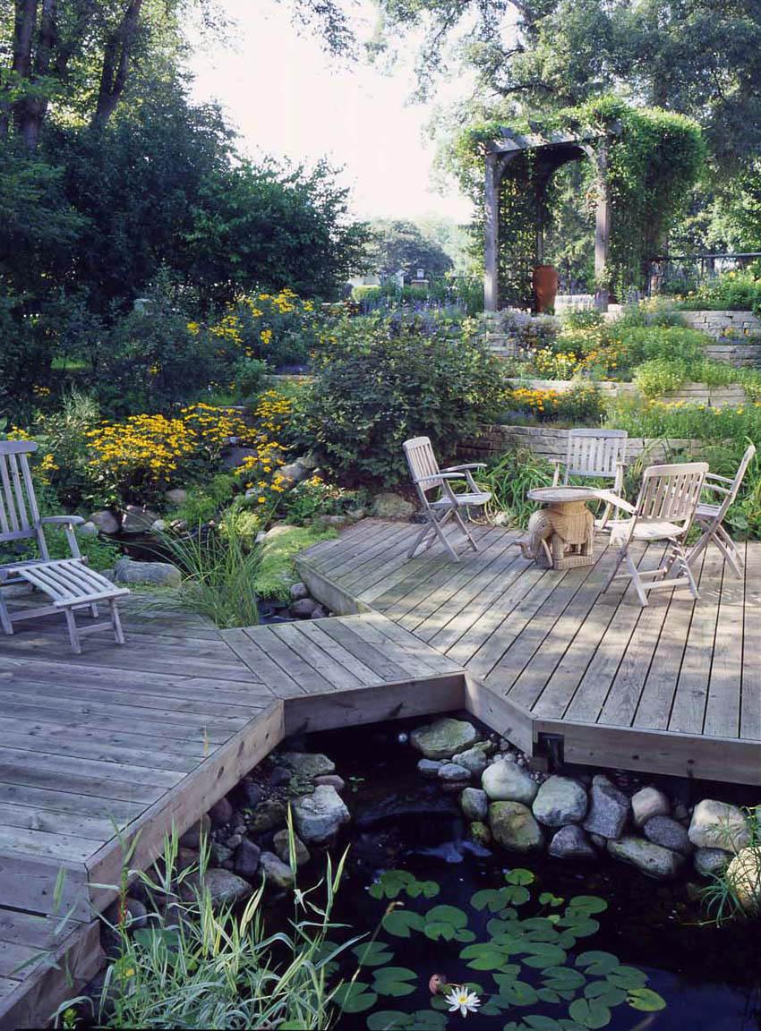Aquascape Your Landscape: Every Deck Needs a Pond