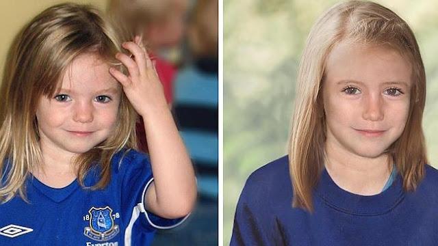 Corpo de menina é encontrado dentro de mala pode ser Madeleine McCann