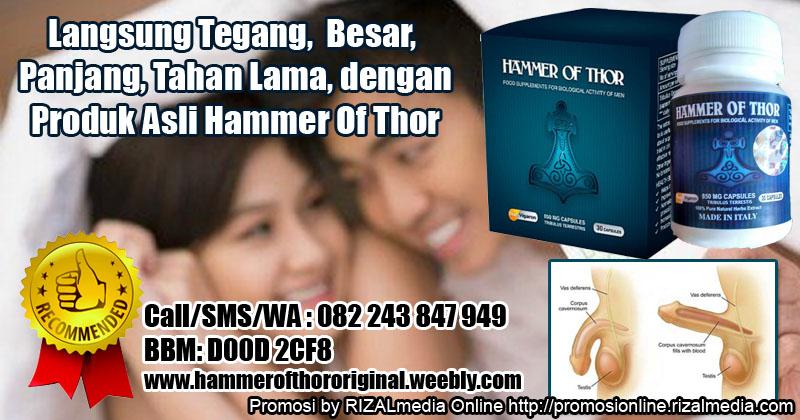 rahasia harmonis suami istri hammer of thor jadi besar panjang