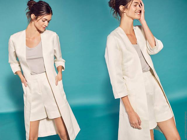 Trajes de moda mujer primavera verano 2018.