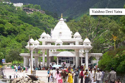 Pictures of Goddess Vaishno Devi Temple Jammu and Kashmir India