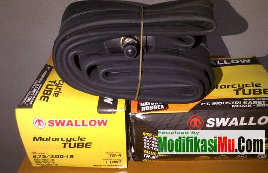 Daftar Harga Ban Dalam Motor Swallow Termurah Untuk Matik Bebek dan Motor Sport