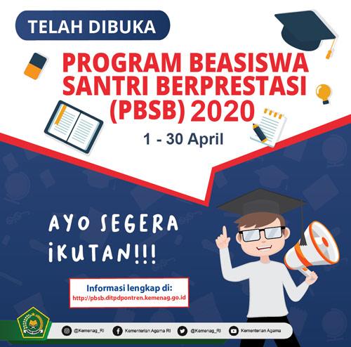 Beasiswa Santri Berprestasi 2020