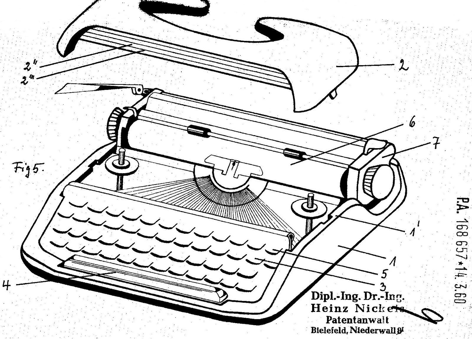 Oz Typewriter A Brilliant S Hiny Portable Typewriter