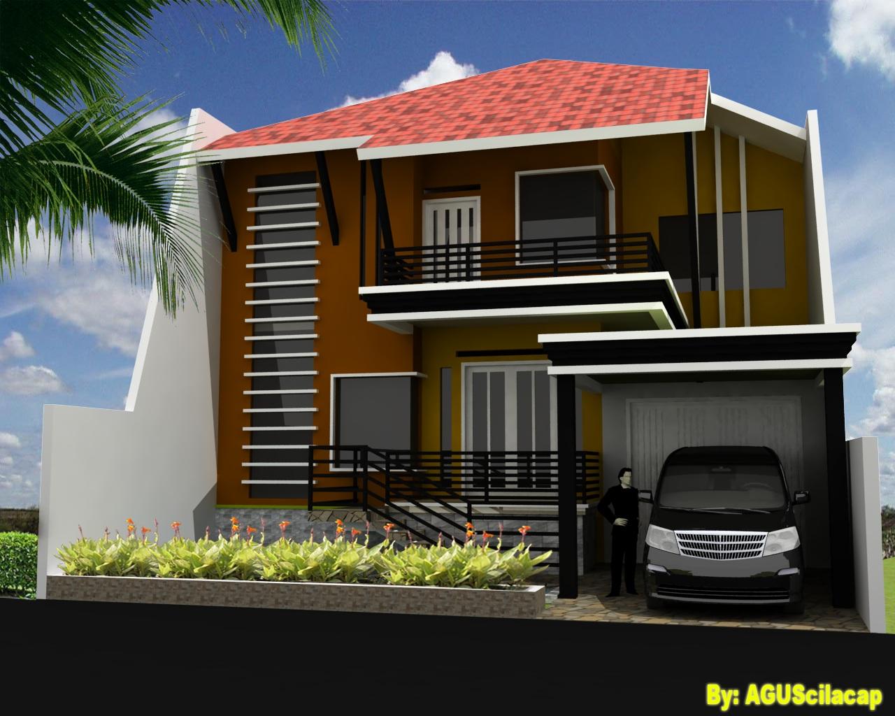 Contoh Desain Rumah Modern Minimalis Kumpulan Gambar Rumah