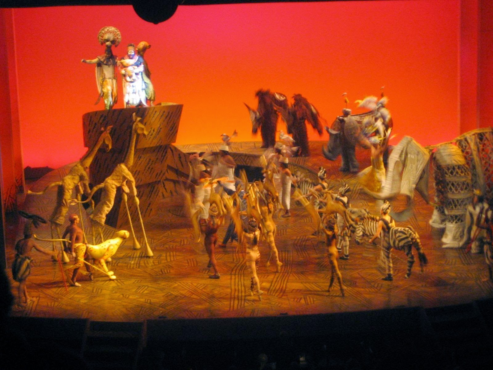 Lyceum Theatre London Magical The Lion King At Lyceum Theatre London
