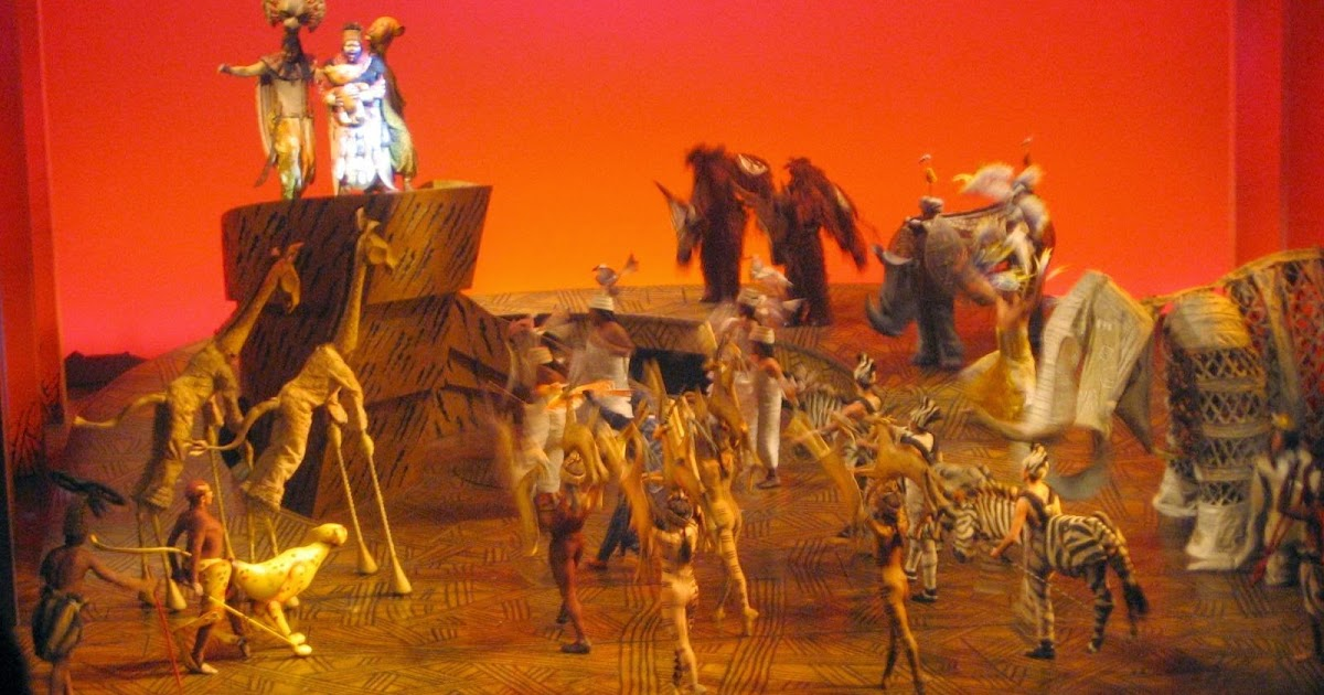 lyceum theatre london  magical the lion king at lyceum