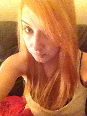 AFTER   Removing red hair dye with colour b4