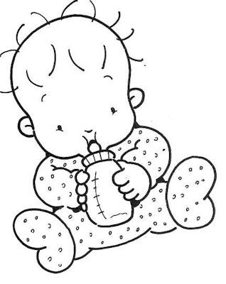 Mimos E Encantos Da Educacao Bebes Desenhos Para Colorir