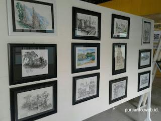 Sketchers sangatta gelar pameran karya seni