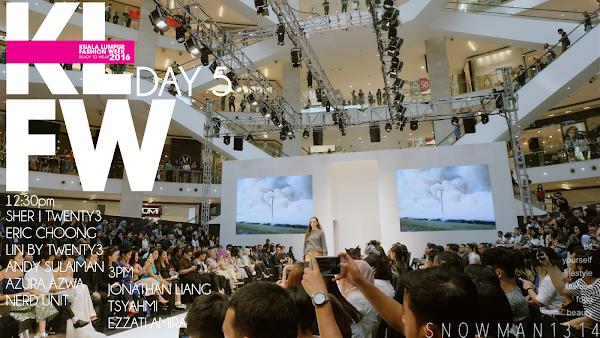 Kuala Lumpur Fashion Week Ready to Wear Day 5 @ Pavilion KL