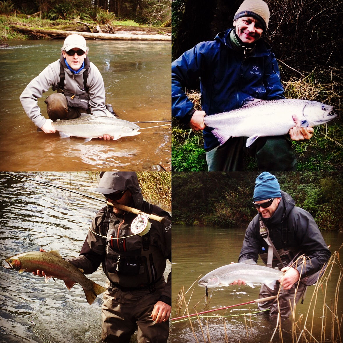 Boston fly fishing and report spring steelhead fishing in for Fishing report oregon
