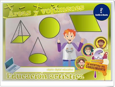 """""""Áreas y volúmenes"""" (Medidas de Educación Primaria)"""