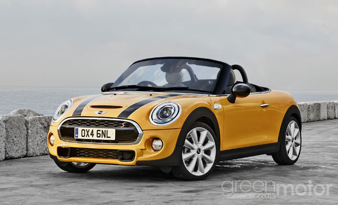 2015 Mini Roadster rendering - front