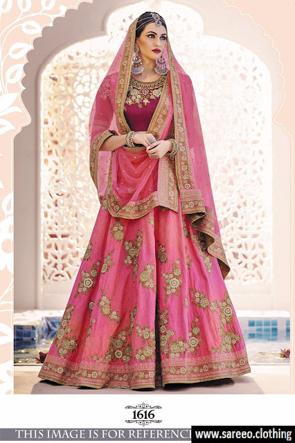Multicolor Bollywood Designer Wedding Lehenga