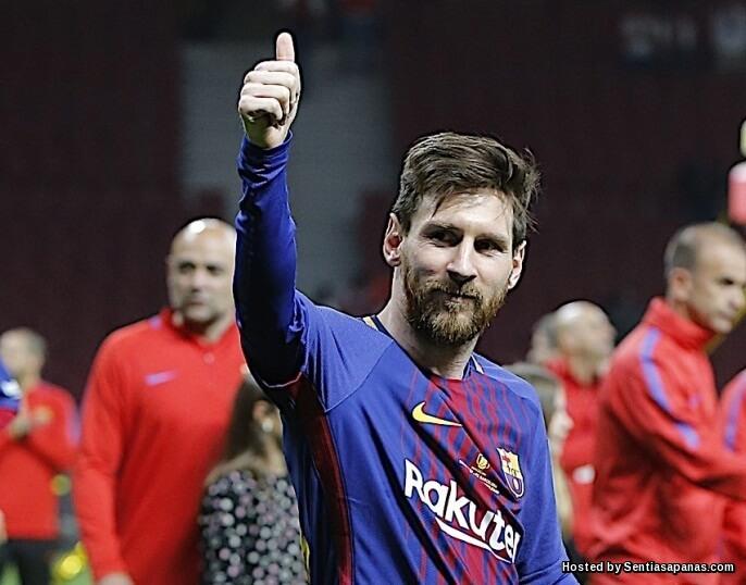 Gaji Lionel Messi €25,000 Seminit