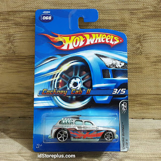 HOT WHEELS COCKNEY CAB II CHROME BURNEZ 3 OF 5 COLLECTOR NO. 068 v1