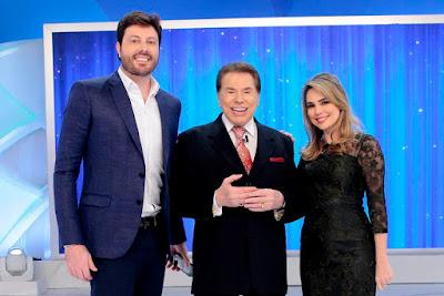 Danilo, Silvio e Rachel  (Crédito: Lourival Ribeiro/SBT)