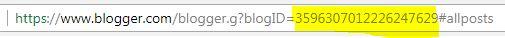 Cara mengetahui blogID