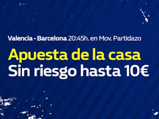 william hill promocion Valencia vs Barcelona 7 octubre
