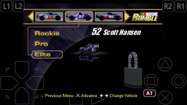 cheat nascar rumble membuka semua mobil