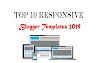 Top 10 Responsive Blogger Templates 2019