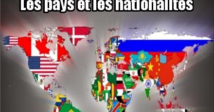 Paises Y Nacionalidades En Francés Ayuda Francés
