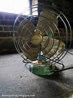 Vintage Eskimo fan found in 1930s house